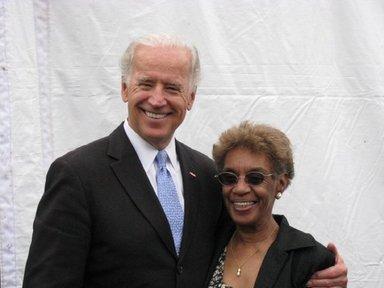 Bettie with Vice President Joe Biden