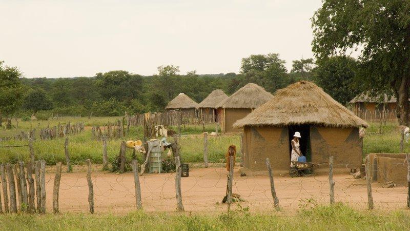 Botswana rondavel