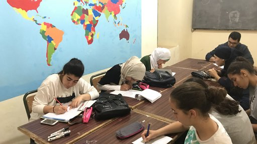 Young Kwon's Korean language and cultural class.