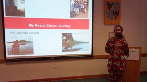 Alexander Schwartz is a science education Peace Corps Volunteer in Cameroon.