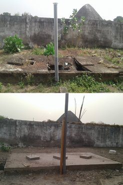 Laura Latrine - Before and after latrine pit.jpg