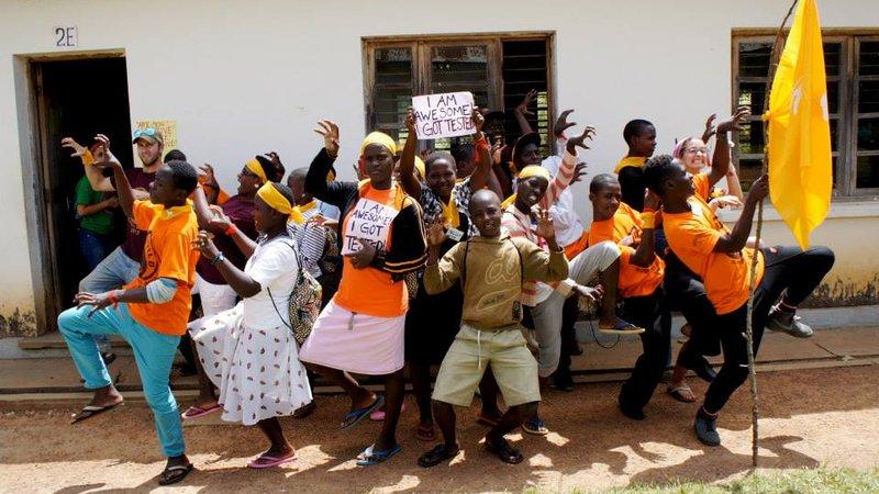 Tiffany Tai organized Camp GLOW in Uganda