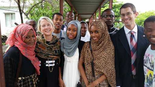 Director Carrie Hessler-Radelet in Comoros
