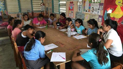 Claudia school children 2