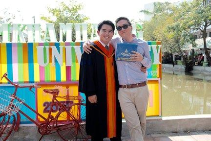 Congratulations on graduating, Film!
