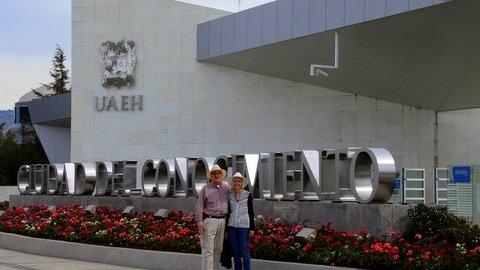 Corrine Brue and husband