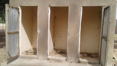 school latrine project