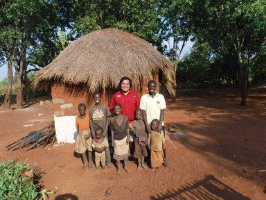 Village kids Zambia