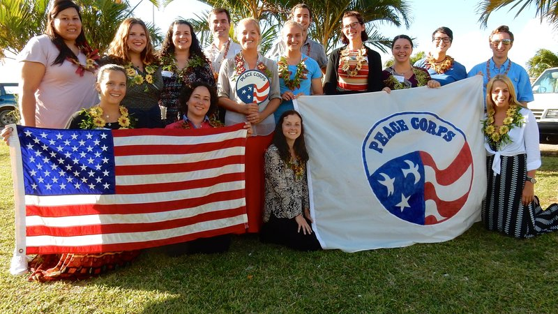 Group 80 arrives in Tonga.