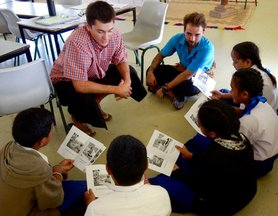 Trainees get the feel for guided reading activities to engage students in active learning