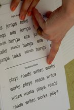 Newly-arrived Trainees practice guided reading activities while on school visit