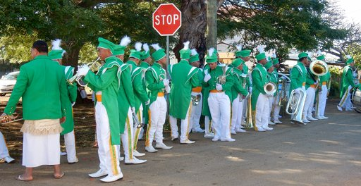 Mormon marching band