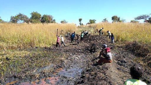 Dam building Zambia