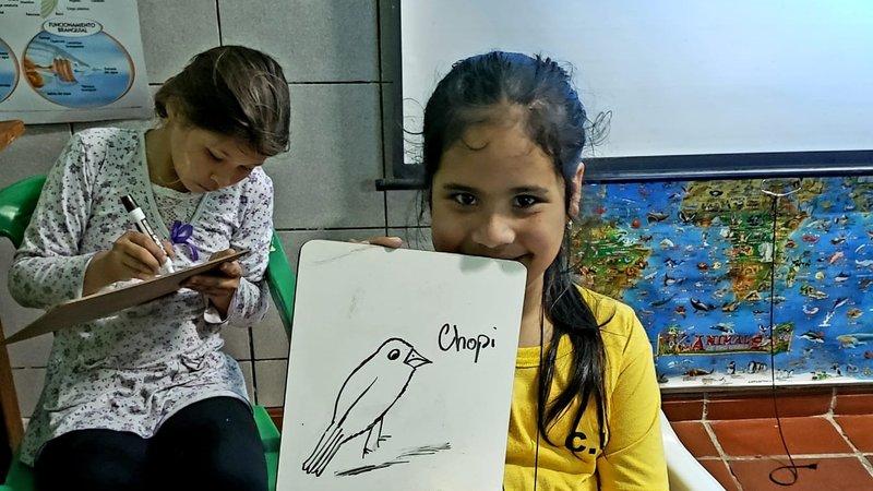 Drawing their favorite species.jpg