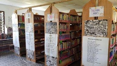Eratap Primary School Library