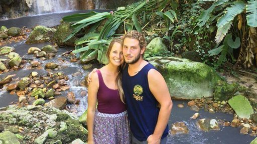 PCV Couple with Waterfall