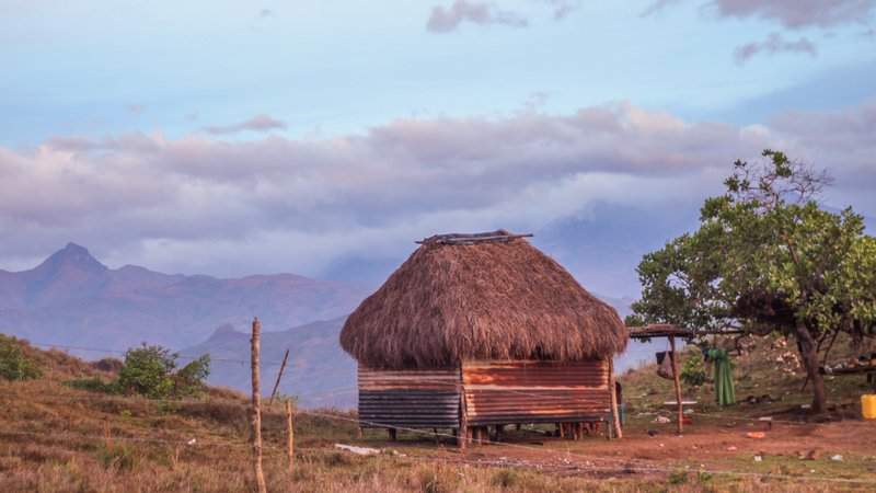 Rai lived in a beautiful and remote village made up of simple mud huts with no running water, electricity or latrines.