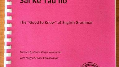 """Sai Ke Tau Ilo"" (""Good to Know"") Grammar Book"
