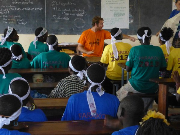 I am a believer in the Peace Corps model of making a difference.