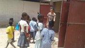 Laura Latrine - Inspecting the rehabilitated latrines 2.jpg