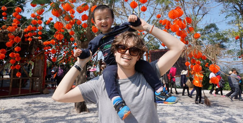 Jeremie Gluckman-Picard learned learn the art of advocating for himself as an education Volunteer in China.