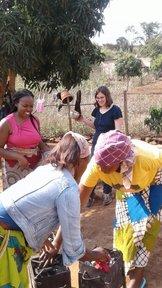 joy in service with fellow volunteers