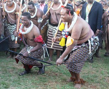 The King of Swaziland