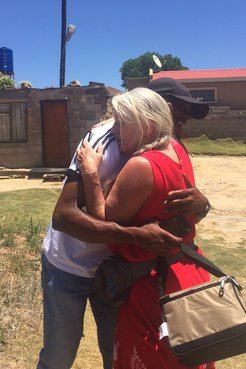 Marie Fitzsimmons reunites with Lebohang, who was 10-years-old the last time they saw each other in Lesotho.