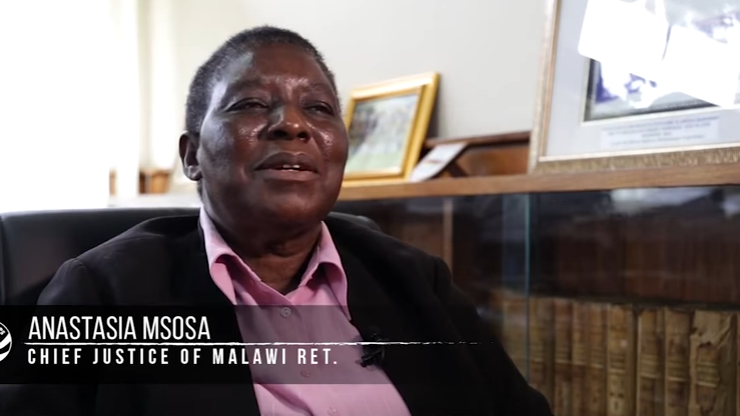 Legacy Project: Chief Justice of Malawi Anastasia Msosa (Ret.)