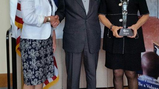 Lillian Carter Award Ceremony