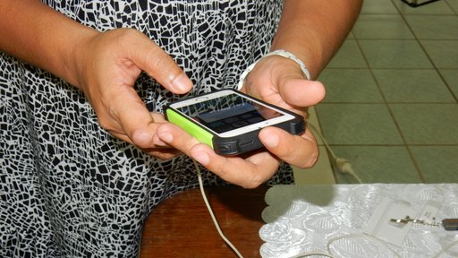 Mobile phone: a learning tool