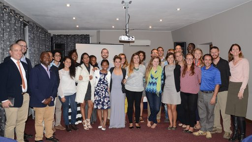 TEFL graduating class in Madagascar