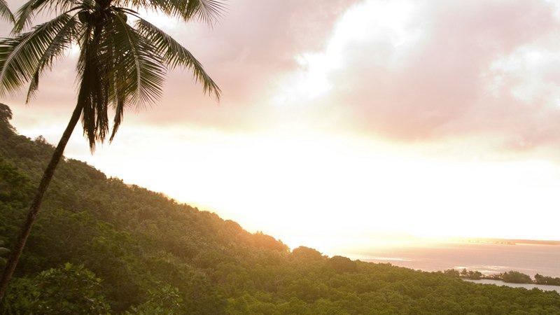 Micronesia sunrise