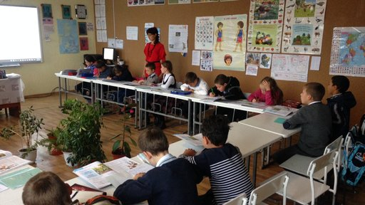 Bringing learning to life in a Moldovan classroom