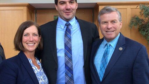 Peace Corps Acting Director Sheila Crowley, Returned Peace Corps Response Volunteer Nate Ferraro, and U.S. Congressman Charli