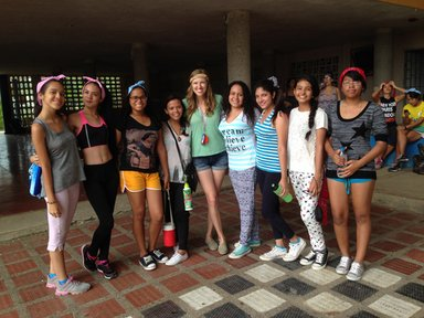 My girls from my Peace Corps site made me so proud!