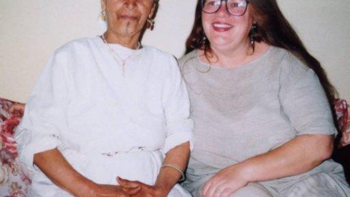 Barbara Castleton and neighbor Aisha