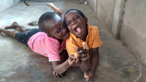 Celebrating Hanukkah in Togo