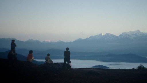Nepal sunrise