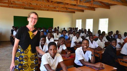 Sandra and her class