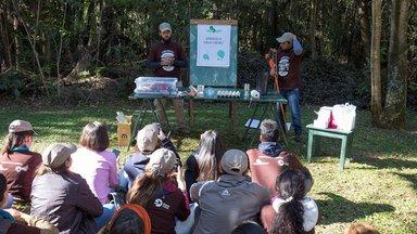 Presentation at Paraguay Verde Camp