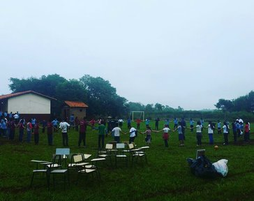 Activities with students from different school