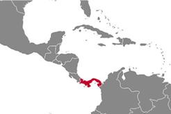 Panama Country Map