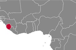 Sierra Leone Country Map