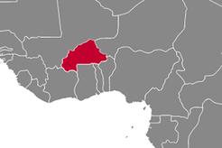 Burkina Faso Country Map