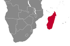 Madagascar Country Map