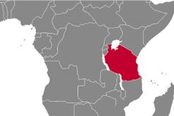 Tanzania Country Map