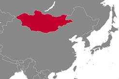 Mongolia Country Map