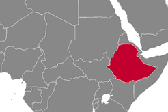 Ethiopia Country Map