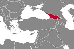 Georgia Country Map
